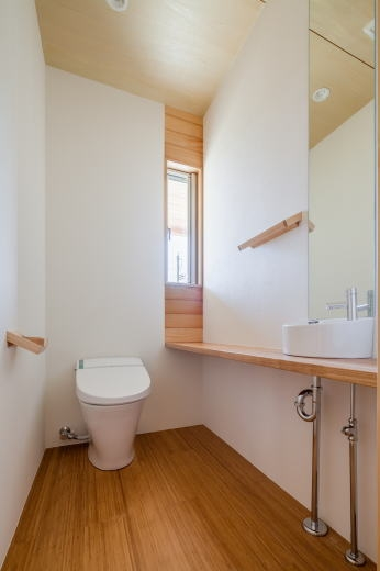 鴻巣の曲り家の部屋 トイレ