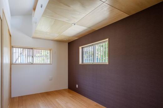 鴻巣の曲り家の部屋 寝室