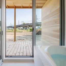 鴻巣の曲り家 (浴室)