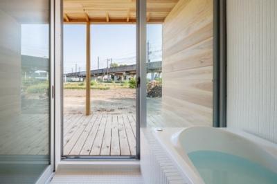 浴室 (鴻巣の曲り家)