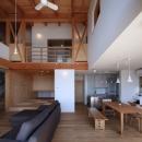久保田英之建築研究所の住宅事例「湖畔の佇まい」