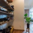 i・e・sリビング倶楽部の住宅事例「無垢のフローリングと 素材感が映えるプランニング」