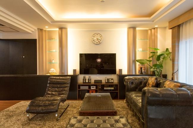 i・e・sリビング倶楽部「札幌の夜景が一望でき、 自然に包まれた 贅沢なマンションリノベーション」