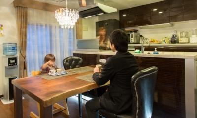 札幌の夜景が一望でき、 自然に包まれた 贅沢なマンションリノベーション