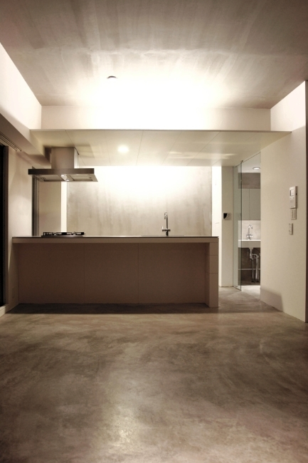 LKS [賃貸マンション]の写真 照明の味が出るキッチン