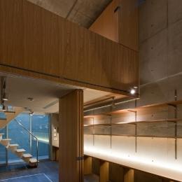 MKR [地下2階地上2階の家] 自邸 (主室構造)