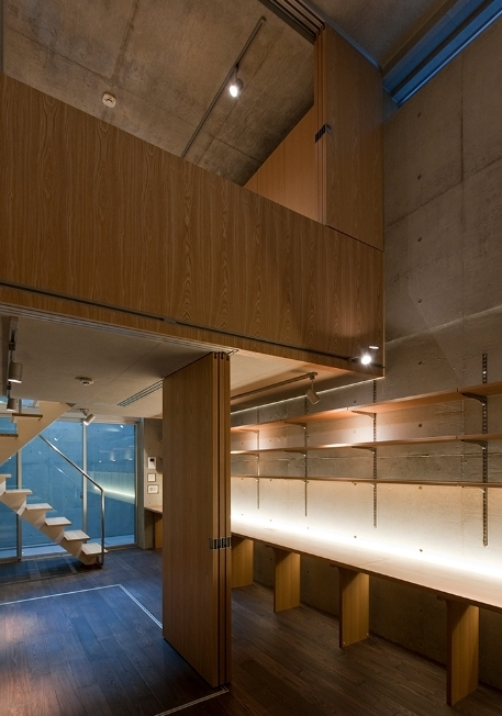 MKR [地下2階地上2階の家] 自邸の部屋 主室構造