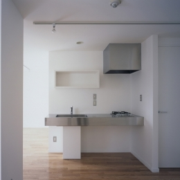 コンパクトなシンプルキッチン