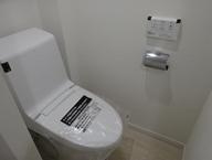 豊島区駒込の部屋 シンプルなつくりのトイレ