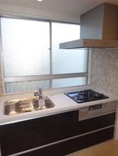 豊島区駒込の部屋 コンパクトなキッチン