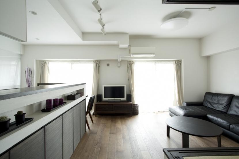 J邸・和モダンスタイル 光と風が通る心地よい住まいの部屋 LDK-2