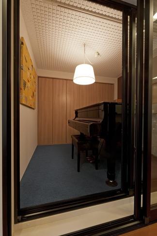 北欧に憧れて…天井に板貼りましたの部屋 趣味部屋