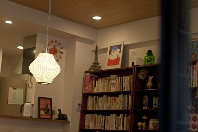 北欧に憧れて…天井に板貼りましたの部屋 ダイニング2
