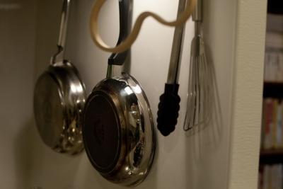 キッチン (北欧に憧れて…天井に板貼りました)