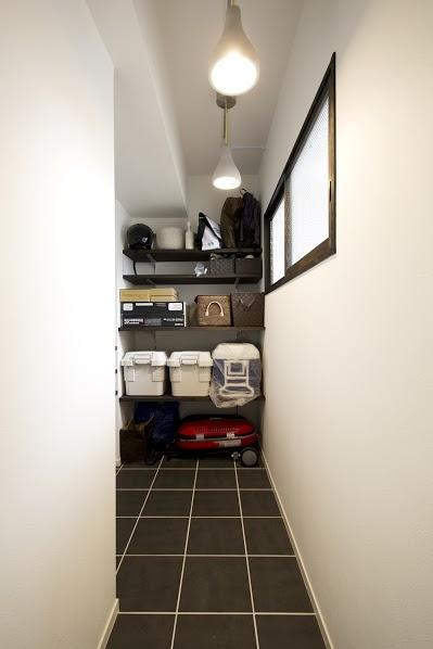 J邸・和モダンスタイル 光と風が通る心地よい住まいの部屋 玄関土間