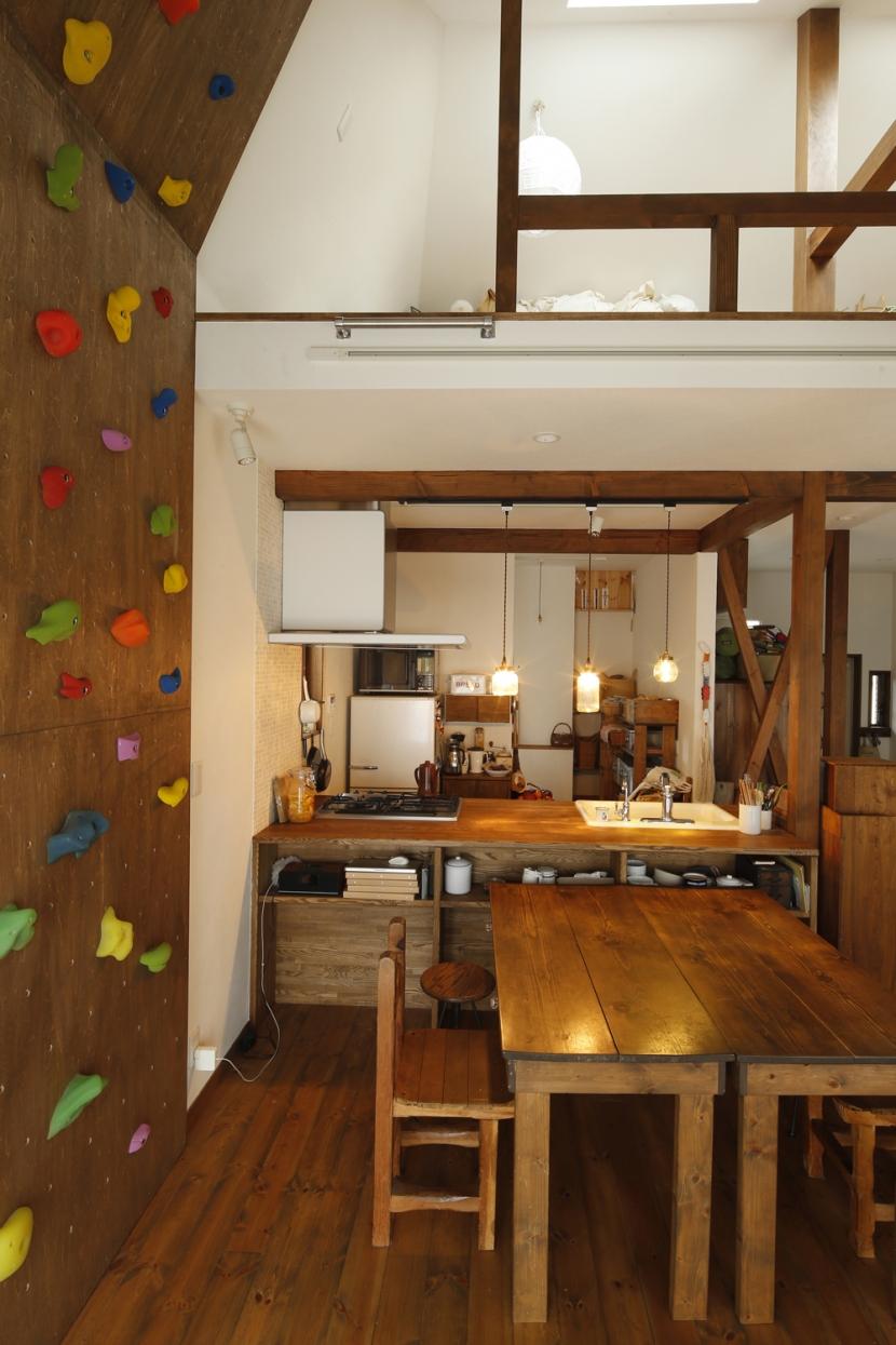 S邸・DIYを楽しむ!の部屋 ダイニングキッチン2