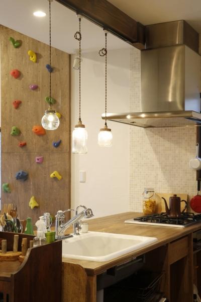 キッチン1 (S邸・DIYを楽しむ!)
