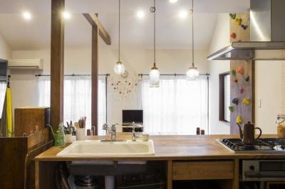 キッチン2 (S邸・DIYを楽しむ!)