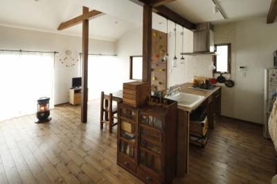 キッチン3 (S邸・DIYを楽しむ!)