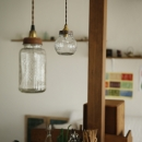 S邸・DIYを楽しむ!の写真 キッチンの照明