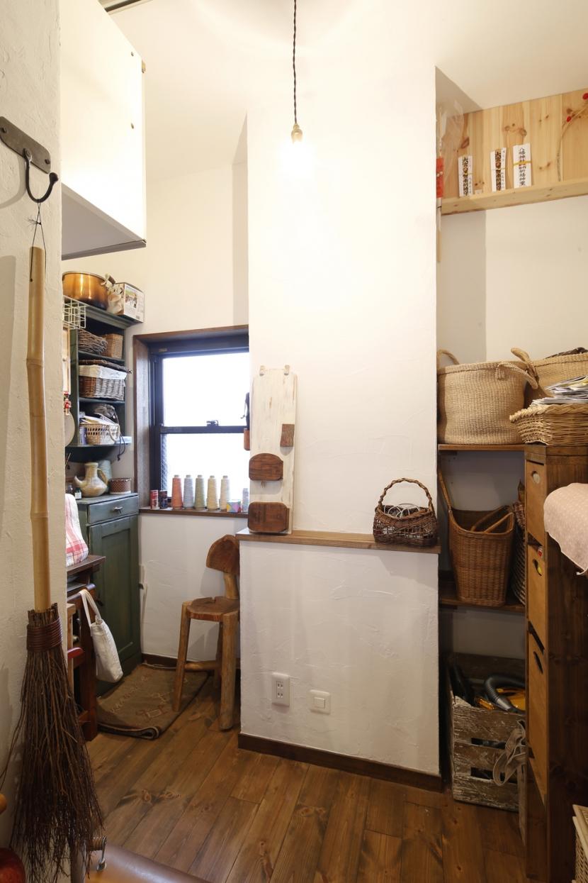 S邸・DIYを楽しむ!の部屋 パントリー