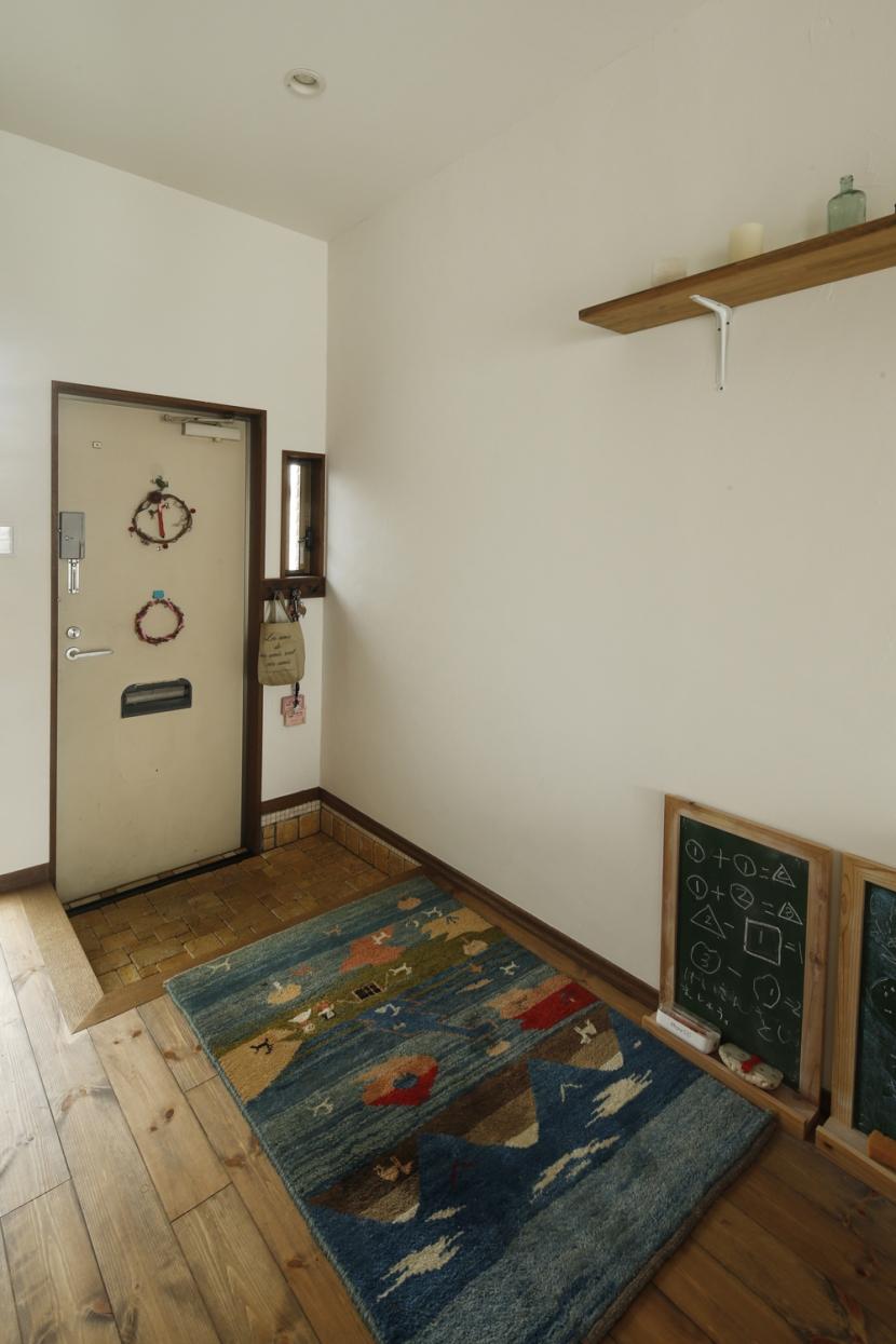 S邸・DIYを楽しむ! (玄関)