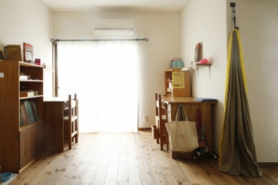 リビング-勉強スペース (S邸・DIYを楽しむ!)