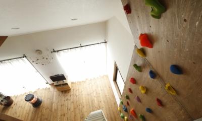 クライミングウォール|S邸・DIYを楽しむ!