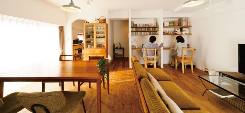 リフォーム・リノベーション会社:インテリックス空間設計「住み心地も、こだわりの家具に合うデザインも大切に考えた住まい。」