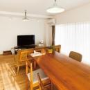 住み心地も、こだわりの家具に合うデザインも大切に考えた住まい。