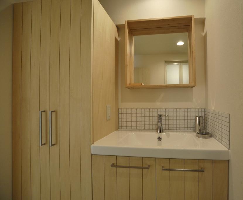 IKEAリノベーションの部屋 洗面所周り