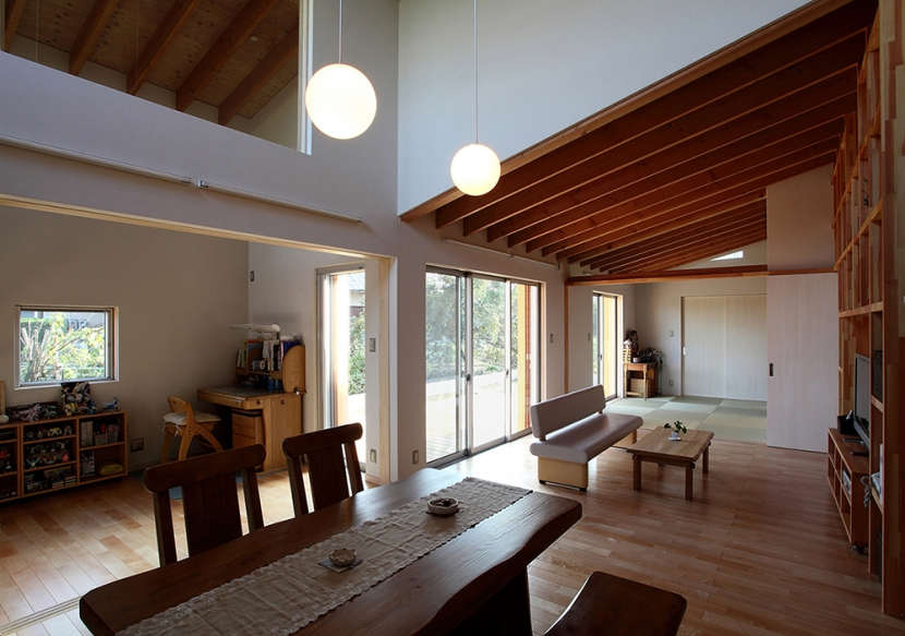 一色白山の家の写真 LDK