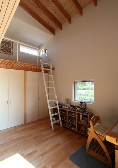 子供部屋 (一色白山の家)