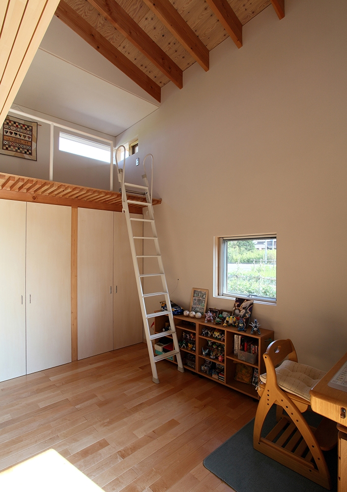 一色白山の家の写真 子供部屋
