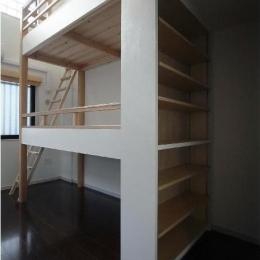 建築家 堀 紳一朗の事例「大きな2段ベッドのある子供部屋」