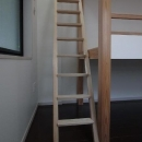 堀 紳一朗の住宅事例「大きな2段ベッドのある子供部屋」