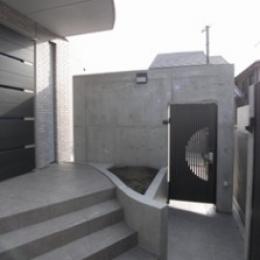 Ym邸 (玄関)