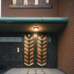 S邸 (玄関)