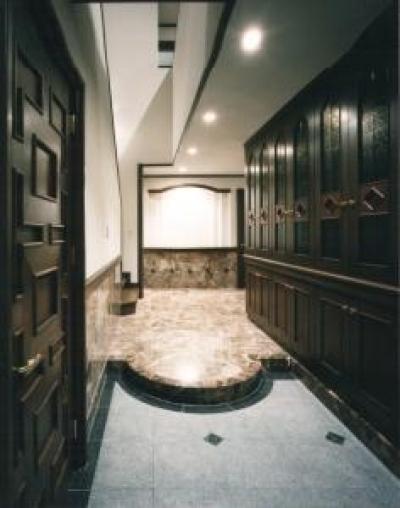S邸 (玄関 2)