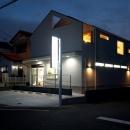 吉川の住まいの写真 外観(夕景)2