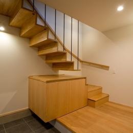 吉川の住まい (階段 1)