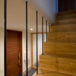吉川の住まい (階段 2)