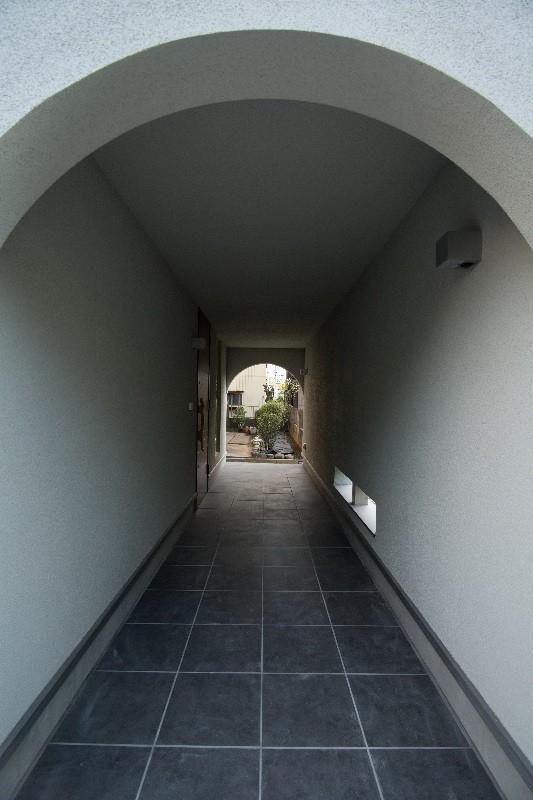 吉川の住まい (廊下)