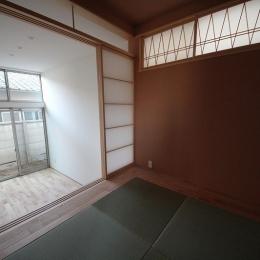 桜台の住まい (和室 2)
