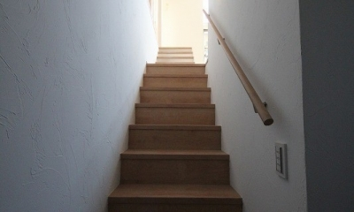 桜台の住まい (階段 1)
