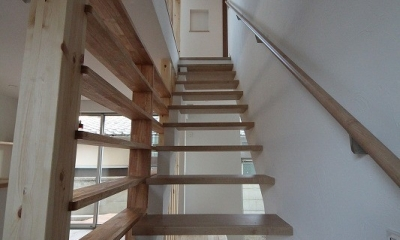 桜台の住まい (階段 2)