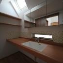 タイラヤスヒロ建築設計事務所の住宅事例「桜台の住まい」