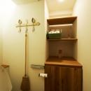 間のある家の写真 トイレ