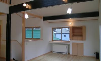 2階リビングの家 (リビング 1)