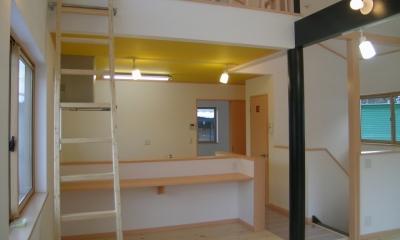 2階リビングの家 (リビング 2)